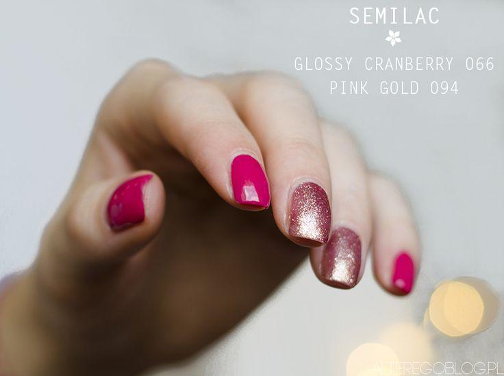 Lakiery SEMILAC na jesień | Moje propozycje manicure i polecane kolory | Alter Ego | blog kosmetyczny, wbrew pozorom nie tylko o urodzie