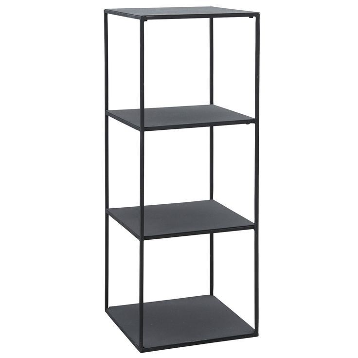 House Doctor wandkast Rack model A zwart