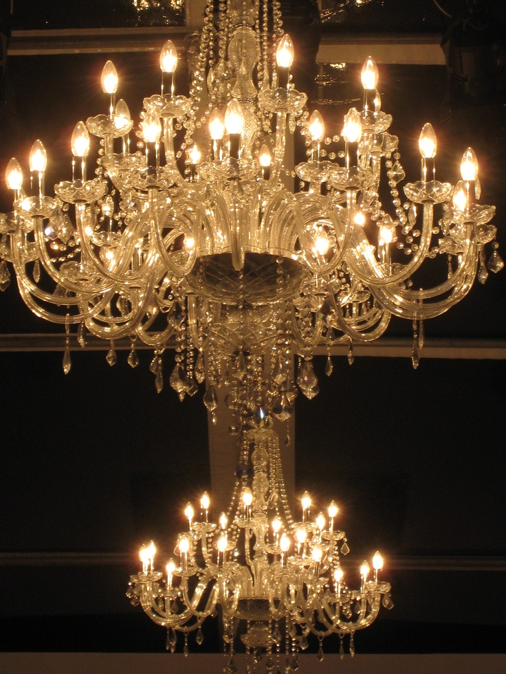 24 Arm Crystal Chandeliers - SMD Technical