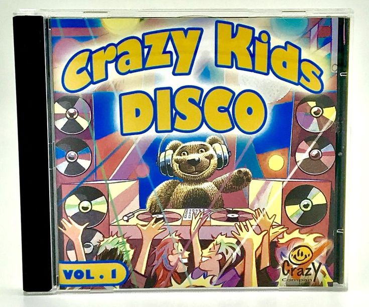 Crazy Kids Disco CD Volume 1 By Crazy Company 21 Tracks From Switzerland Party