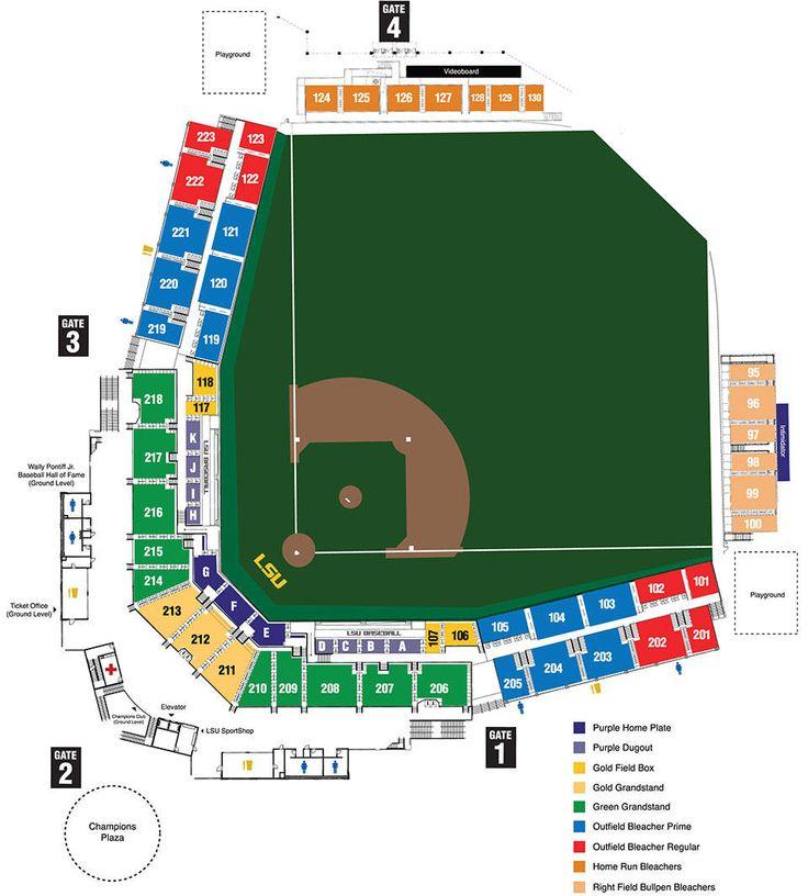 Alex Box Stadium Seating Chart