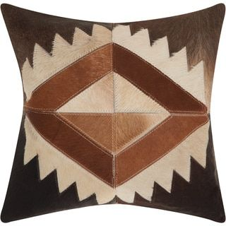 Shop for Mina Victory Dallas Western Diamond Brown Throw Pillow (20-inch x 20-inch) by Nourison. Get free shipping at Overstock.com - Your Online Home Decor Outlet Store! Get 5% in rewards with Club O!