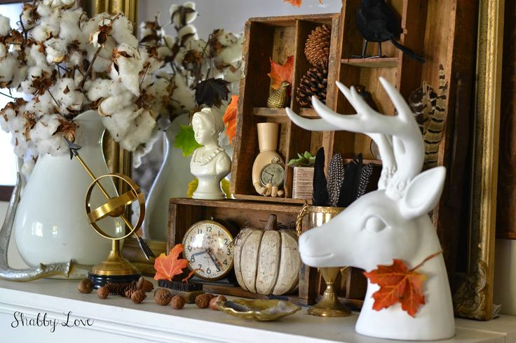 Thoughts from Alice: Modern Fall Decor: Sundays at Home No. 31 Weekly Link Party & Features