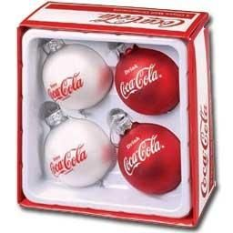Coca Cola ornaments... CUTE! <3