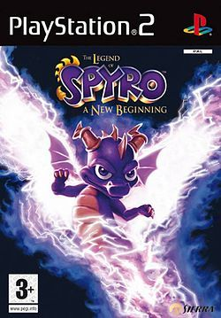 Spyro a new beginning XBOXille
