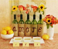 italian themed wedding favors - Google Search                                                                                                                                                     More