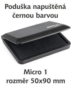 Poduška Micro 1 černá
