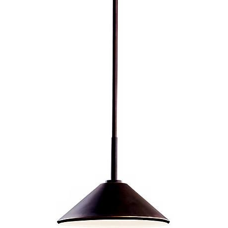 "Ripley Collection 10"" Wide Dark Sky Outdoor Pendant Light"