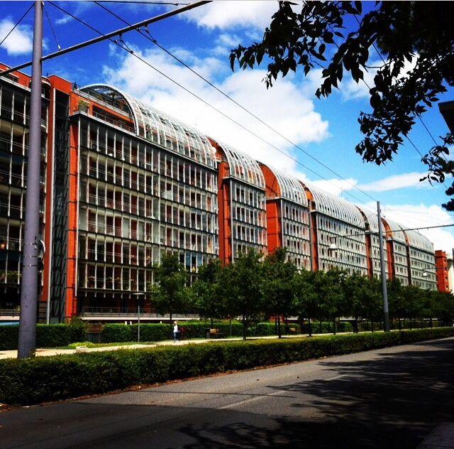 Cité Internationale, Lyon Parc de la Tête d'or, sky, architecture, architektur, building