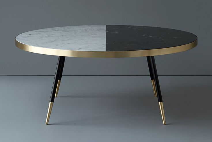 Bethan has been inspired by pairing the natural beauty of coloured marble together with warm brushed brass to create her Band range of tables,...