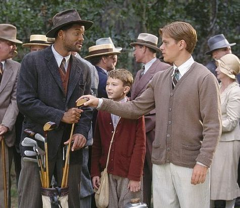 """Bagger Vance (Will Smith) to Rannulph Junuh (Matt Damon) : """"I hear you lost your swing. I guess we got to go find it."""" -- from The Legend of Bagger Vance (2000) directed by Robert Redford"""