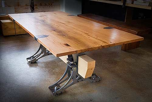 Steel Truss And Beam Tables By Brandner Design Caves
