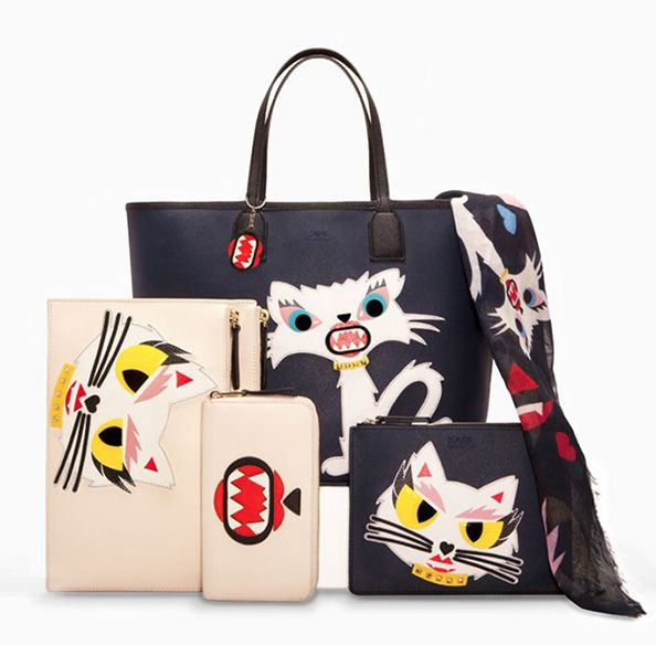 How PURR-fect --  Karl Lagerfeld Designed a Line of Choupette Clothing and Accessories! #InStyle