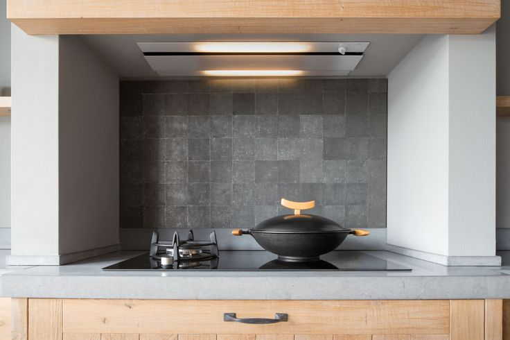 50 shades of grey in your kitchen with Pure Tiles in Raw Metal!
