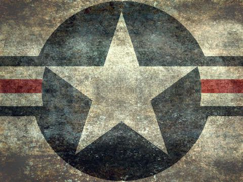 Check out 'US Air force Roundel insignia' by Bruce Stanfield on TurningArt