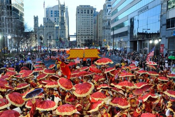 See the Mummers Parade in Pihilly!
