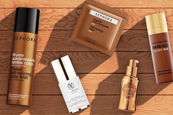 Gel irisé, brume caramel, lingettes sublimantes… Découvrez sur Beautydot by Sephora les produits ensoleillants qui assurent un bronzage à tomber, même quand il pleut !