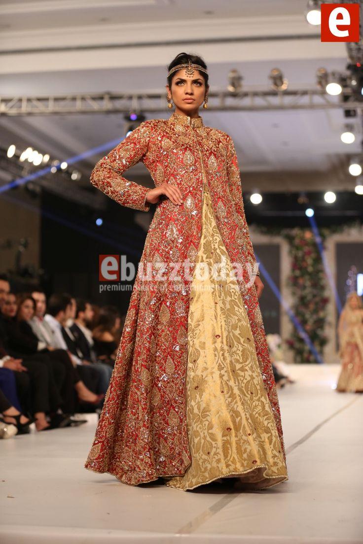 Maheen Taseer at PFDC Loreal Paris Bridal Week 2015