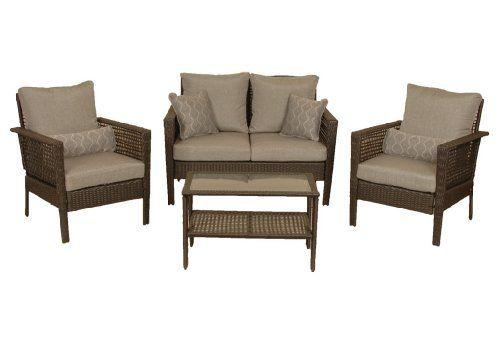Hudson Patio Furniture Seating Set (4 Piece) by La-Z-Boy ...
