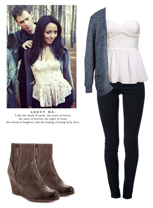 Bonnie Bennett - tvd / the vampire diaries by shadyannon on Polyvore featuring polyvore fashion style SELECTED STELLA McCARTNEY Frye clothing