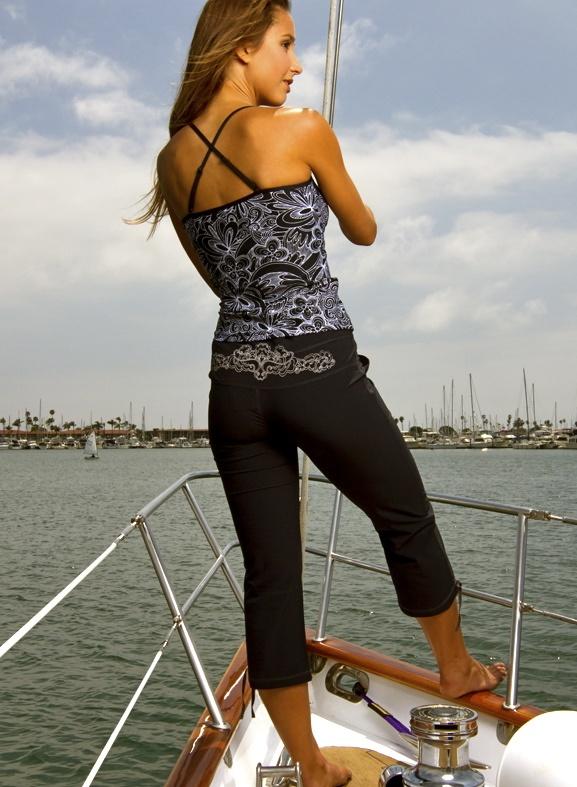 Topdekk sailing capris sailing pinterest for Ann taylor loft fashion island
