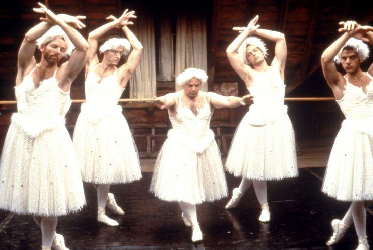 Stephen Bogardus, John Benjamin Hickey, Jason Alexander, Justin Kirk, Randy Becker, 1997 | Essential Gay Themed Films To Watch, Love! Valour! Compassion! http://gay-themed-films.com/watch-love-valour-compassion/