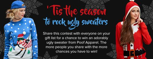 Enter to Win an Ugly Christmas Sweater! (11/30) {us}? via... sweepstakes IFTTT reddit giveaways freebies contests