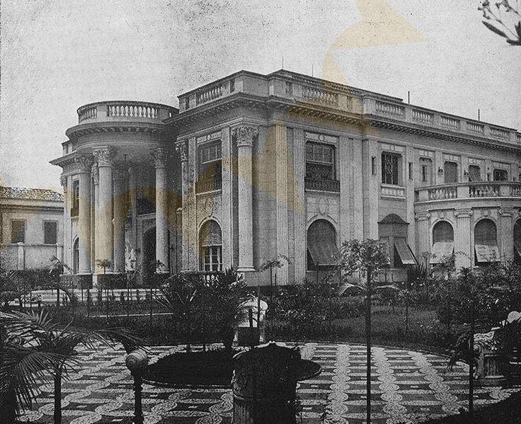 1941 - Palacete na Avenida Paulista, 523. Localizava-se próximo ao cruzamento com a avenida Brigadeiro Luiz Antônio. Engenheiro responsável: Alfredo Ernesto Becker.