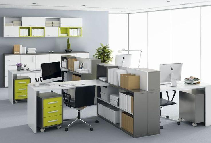 Cara mudah membuat ruang kantor yang sempit agar terlihat lebih lega.  #ruangkantor #interiorkantor #desainkantor