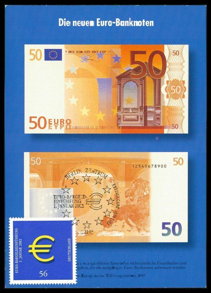 BUND MK 2002 EURO-EINFÜHRUNG PRIVATE! MAXIMUMKARTE CARTE MAXIMUM CARD MC cc90