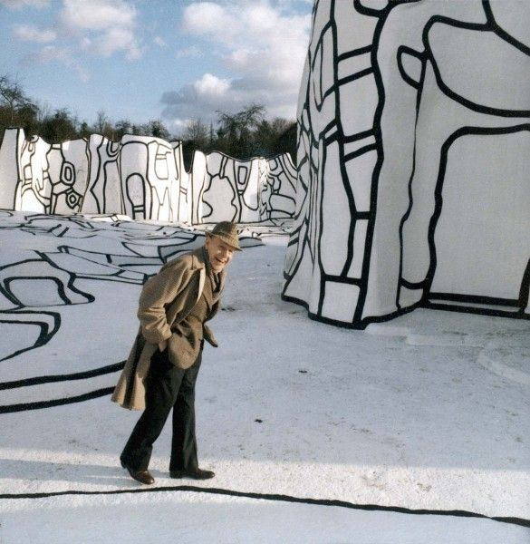 jean dubuffet sculpture | Dubuffet à la Closerie Falbala. Photo : © Fondation Dubuffet