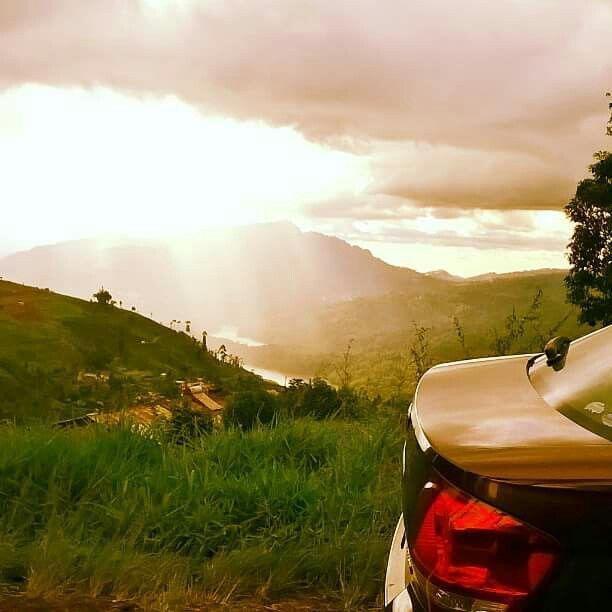 On the way to nuwara eliya