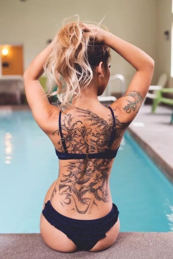 back tattoos for women (115)