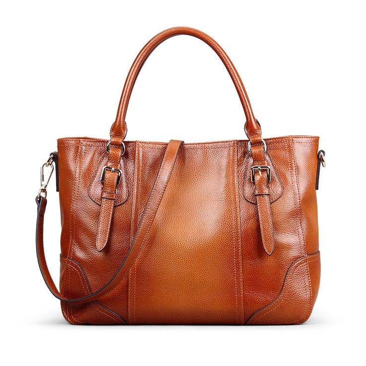 Kattee Vintage Genuine Soft Leather Shoulder Handbag