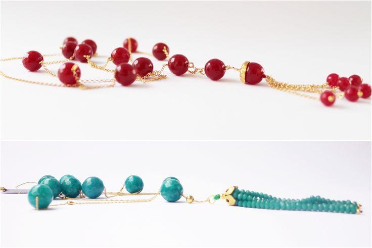 ΚάτιΝα Π. semiprecious stone rosarios www.jamjar.gr/store/katinap