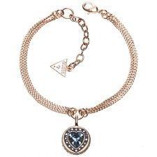 Guess Coins of Love Rose Plate Bracelet UBB21537-L