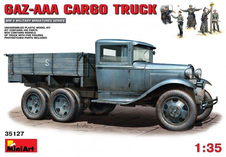 Maquette - Kit GAZ-AAA Cargo Truck - MINIART 35127