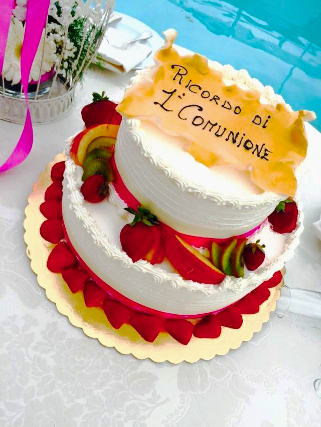 fruit cake prima comunione