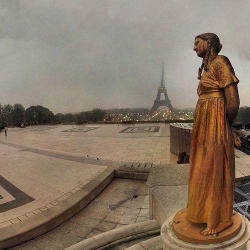 Place des Droits de l'Homme au Trocadéro