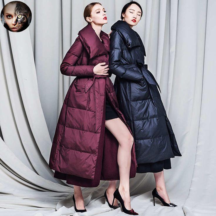 Winter down jacket woolen coat