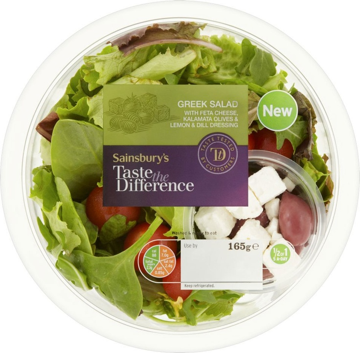 Sainsbury's Taste the Difference Greek Salad (165g)