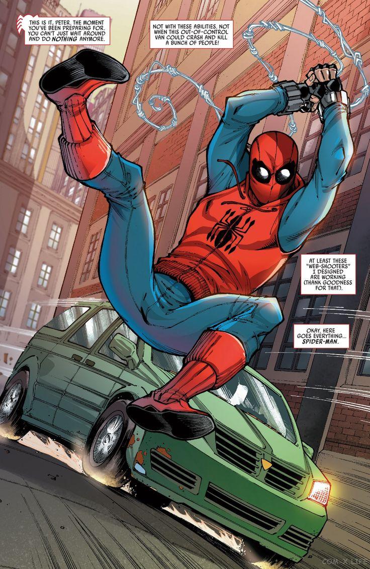 Читать Spider-Man: Homecoming Prelude / Человек-паук ...