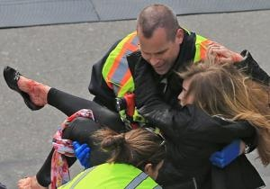 Two explosions ripped through the finish line of the Boston Marathon on April 15, 2013. The euphoria of crossing the finish line turned into bloody chaos as two blasts rocked the end of the 26.2-mile trek.