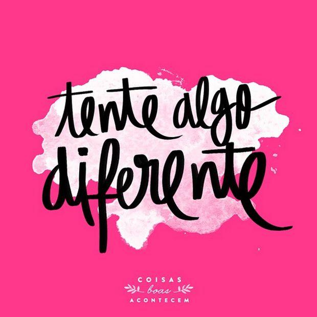 Coisas Boas Acontecem é um projeto no Instagram que traz frases motivacionais otimistas. Para nos lembrar o que é realmente importante na vida!