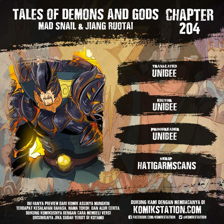BACA UPDATE (Tales of Demons and Gods Chapter 204 Bahasa