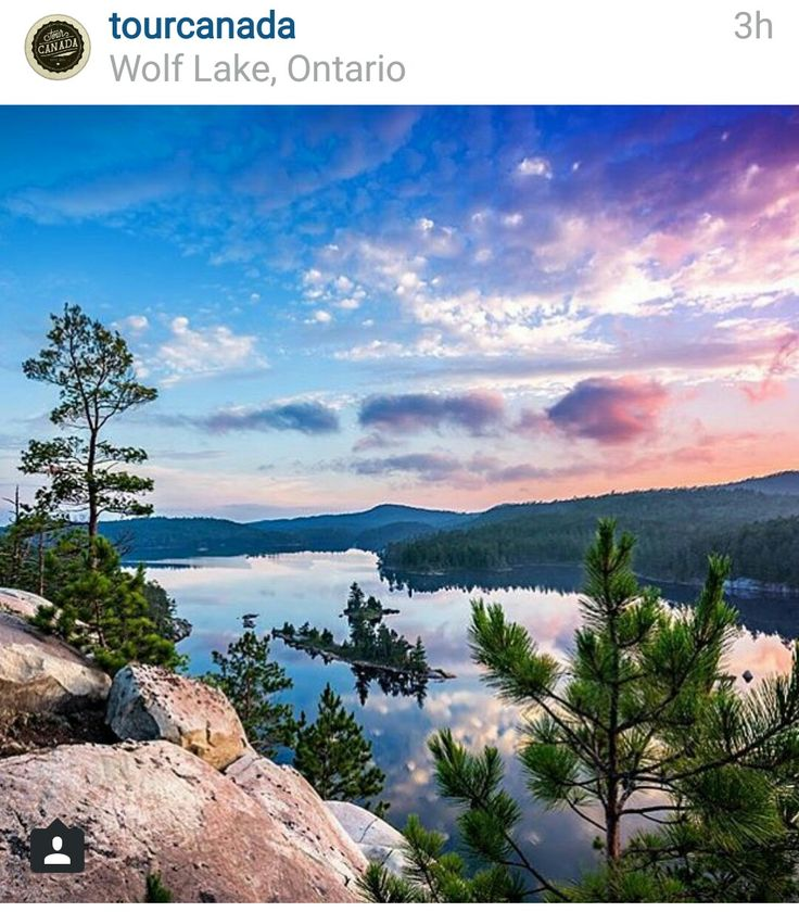 Wolf Lake in Greater Sudbury, Ontario | Changing the way people interact with their local community, discover events and purchase tickets at www.bruha.com