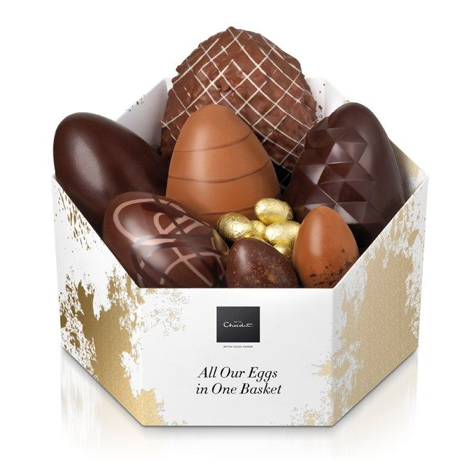 21 best easter goodies images on pinterest chocolate easter eggs all our eggs in one basket from hotel chocolat hotel chocolateluxury negle Choice Image