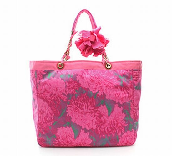 Sweetest Flower Printed Tote from Lanvin