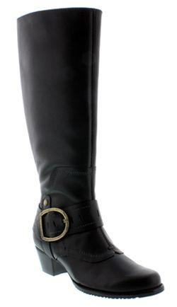 Walking Cradles�  Aryn Super Plus Wide Calf� Boot (Black)
