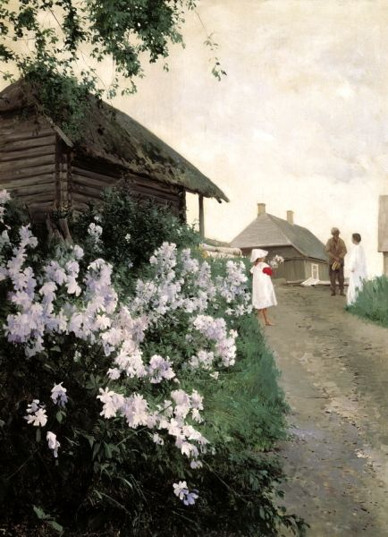 Schilder Andrew - Cottage in Finland. 200 Russian painters • download painting • Gallerix.ru